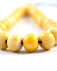 Κίτρινο κομπολόι από βακελίτη