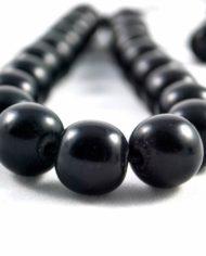 Κομπολόι από μαύρο βακελίτη
