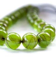 Κομπολόι από λιβάνι πράσινου χρώματος
