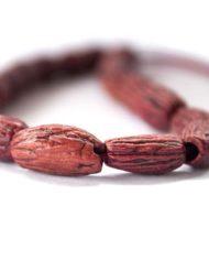 Χειροποίητο κομπολόι από κουκούτσι ελιάς κόκκινο